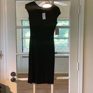 Velvet Torch LA Black Midi Dress